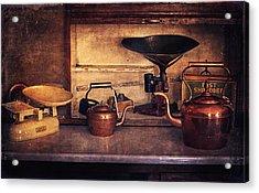 Old Kitchen Utensils Acrylic Print