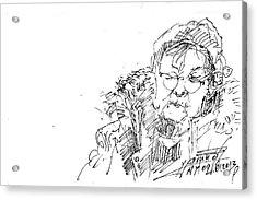Old Lady Acrylic Print