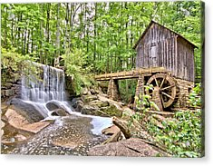 Old Lefler Grist Mill Acrylic Print