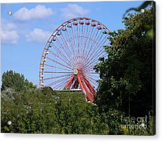 Acrylic Print featuring the photograph Old Leisure Park Planterwald by Art Photography