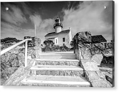 Acrylic Print featuring the photograph Old Light House by Robert  Aycock