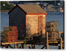 Old Lobster Shack Acrylic Print