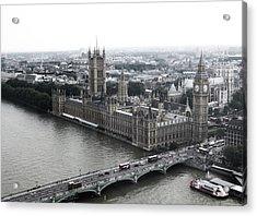 Old London .. New London Acrylic Print