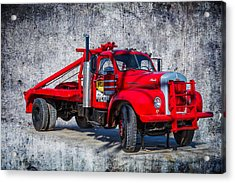 Old Mack Truck Acrylic Print by Doug Long