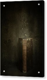 Acrylic Print featuring the photograph Old Magic Book by Ethiriel  Photography