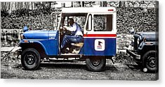 Old Mail Acrylic Print