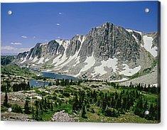 M-09702-old Main Peak, Wy Acrylic Print