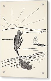 Old Man Kangaroo Acrylic Print by Rudyard Kipling