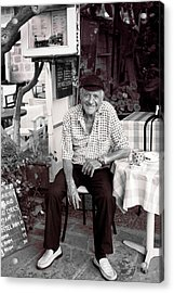 Old Man Of Old Town Acrylic Print