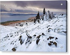 Old Man Of Storr Acrylic Print by Rod McLean