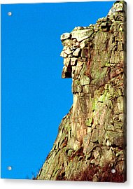 Old Man Of The Mountain Acrylic Print