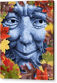 Old Man Winter Is A Coming Acrylic Print