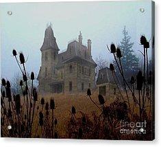 Old Manor Acrylic Print by Tom Straub