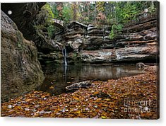 Old Mans Cave Acrylic Print by James Dean