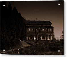 Old Mansion Acrylic Print by Salman Ravish