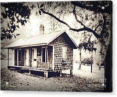 Old Masonboro Slave Cottage Acrylic Print
