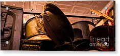 Old Military Hats Acrylic Print by Amy Cicconi