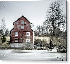 Old Mill 2 Acrylic Print by Matti Ollikainen