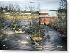Old Mill 4 Acrylic Print by Matti Ollikainen