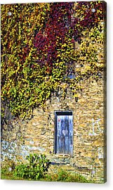 Old Mill Door Acrylic Print by Paul W Faust -  Impressions of Light