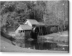 Virginia's Old Mill Acrylic Print