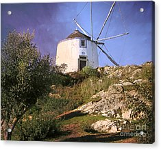 Old Mill Acrylic Print by Lutz Baar