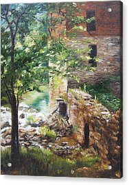 Old Mill Stream I Acrylic Print