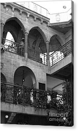 Old Mission Inn Acrylic Print by Jennifer Apffel