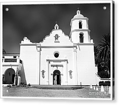 Old Mission San Luis Rey De Francia Acrylic Print by Glenn McCarthy Art and Photography
