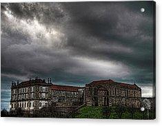 Old Monastery Acrylic Print