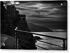 Old Monterosso Acrylic Print
