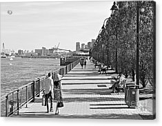 Acrylic Print featuring the photograph Old Montreal by Cendrine Marrouat