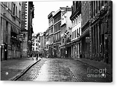 Old Montreal Streets Acrylic Print