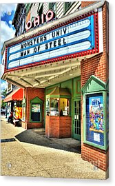 Old Movie Theater Acrylic Print