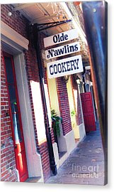 Acrylic Print featuring the photograph Old Nawlins by Erika Weber