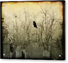 Old Necropolis Acrylic Print by Gothicrow Images