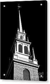 Old North Church Star Acrylic Print by John Rizzuto