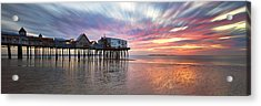 Old Orchard Beach Panorama Acrylic Print