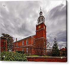 Old Otterbein Country Church Acrylic Print