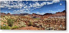 Old Paria Painted Desert Acrylic Print