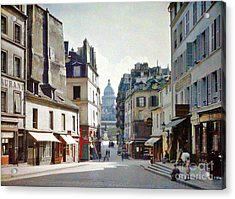 Acrylic Print featuring the photograph Old Paris by Bill OConnor