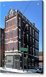 Old Penn Hotel - Johnstown Pa Acrylic Print