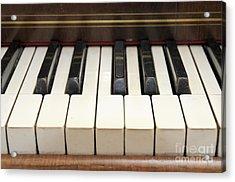old piano II Acrylic Print