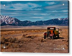 Old Pickup Acrylic Print by Robert Bales