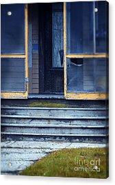 Old Porch Acrylic Print by Jill Battaglia