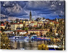 Old Port Belgrade Acrylic Print by Milan Karadzic