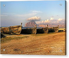 Acrylic Print featuring the photograph Aquatic Dream Of Sicily by Silva Wischeropp