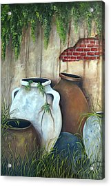 Old Pottery Acrylic Print