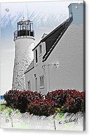 Old Presque Lighthouse Acrylic Print