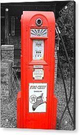 Old Pump  Acrylic Print by Steven  Taylor
